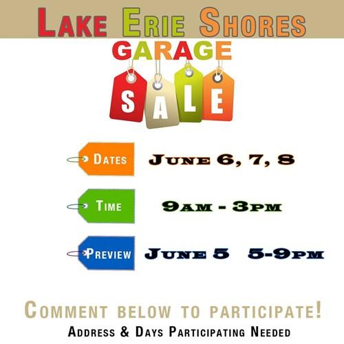 Yard Sale | Lake Erie Shores